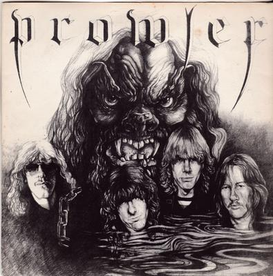Prowler - Forgotten Angel / Don't Let Go - Pirate Records S226S8 PS