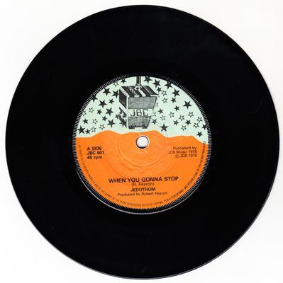 Jeduthum - When You Gonna Stop / Stop Ranking Dub - JBC 601