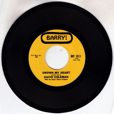 David Coleman - - Drown My Heart / My Foolish Heart - Barry BRY 1013