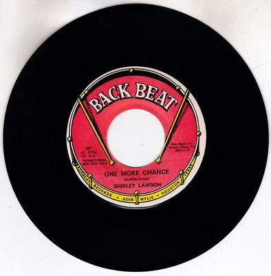 Shirley Lawson - One More Chance / The Star - Back Beat 567 DJ