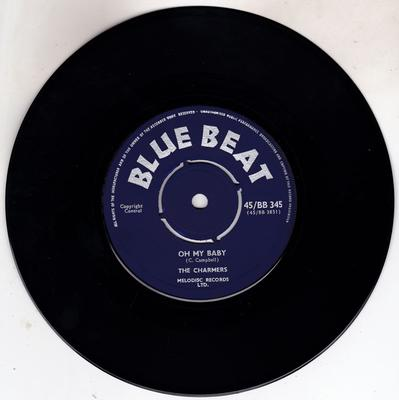 Charmers / Stranger Cole - Oh My Baby / When The Party Is Over - Blue Beat 45/BB 345