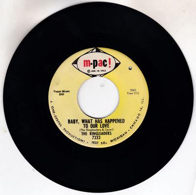 Ringleaders - Baby, What Has Happened To Our Love / Let's Start Over - M-Pac 7232