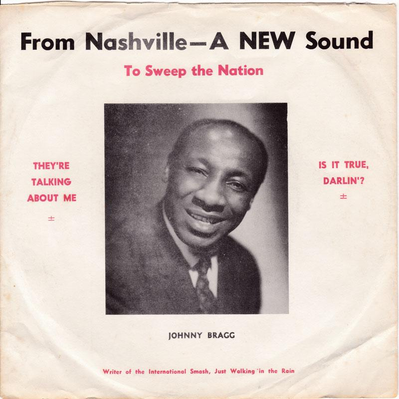 Johnny Bragg - They're Talking About Me / Is It True - Elbejay 001 PS