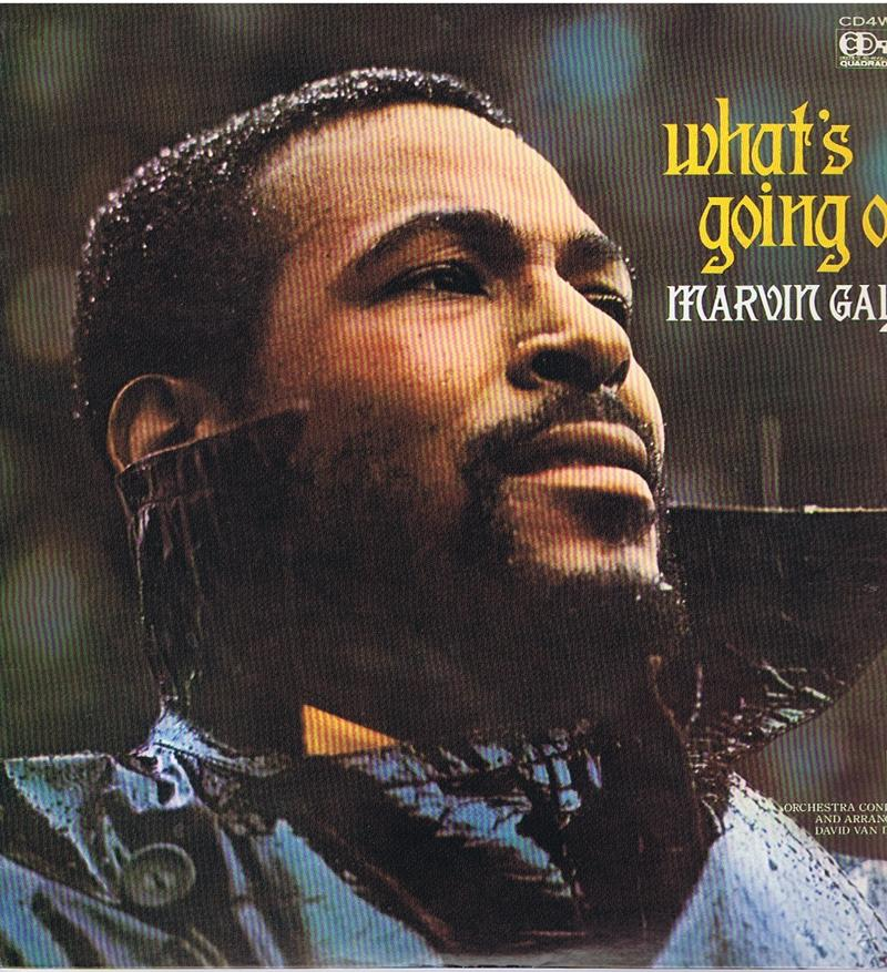 Marvin Gaye - What's Going On / 1971 Japanese QUADROPHONIC press - Tamla Motown CD4W 7092