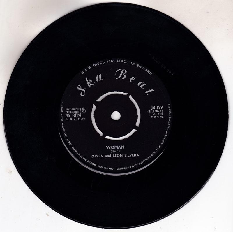 Owen and Leon Silvera / Baba Brooks and Don Drummond - Woman / Dr. Decker - Ska Beat JB 189