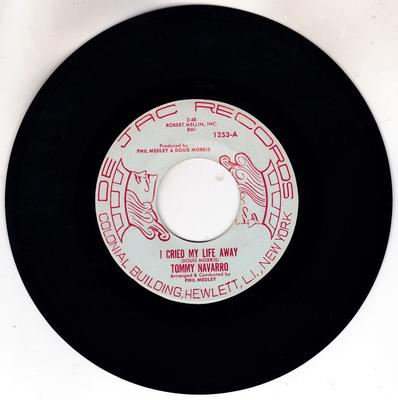 Tommy Navarro - I Cried My Life Away / Club Of Broken Hearts- De Jac 1253