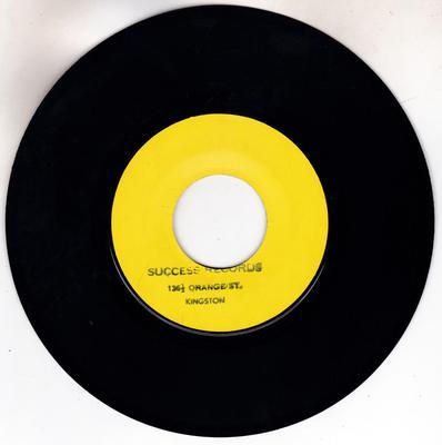 U-Roy Junior – Sharper Than A Razor / Orange Street Shuffle - Success DSR RE 6527 blank