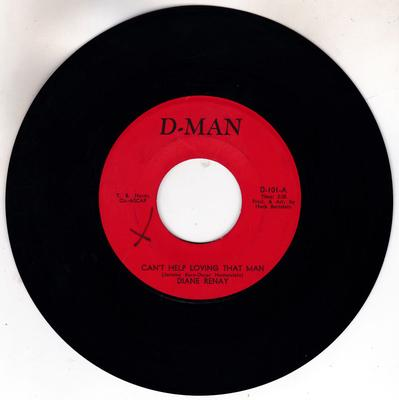 Diane Renay - Can't Help Loving That Man / It's A Good Day For A Parade - D-Man D-101