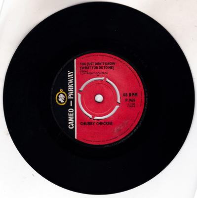 Chubby Checker - You Don't Know ( What You Do To Me Girl ) / Two Hearts Make One Love - Cameo Parkway P 965