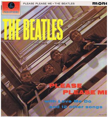 Beatles - Please Please Me / original 1963 press - Parlophone PCS 3012
