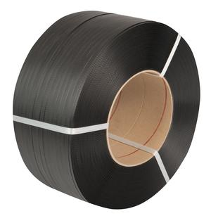 Safeguard® Black 12 x 0.55mm PP Strap