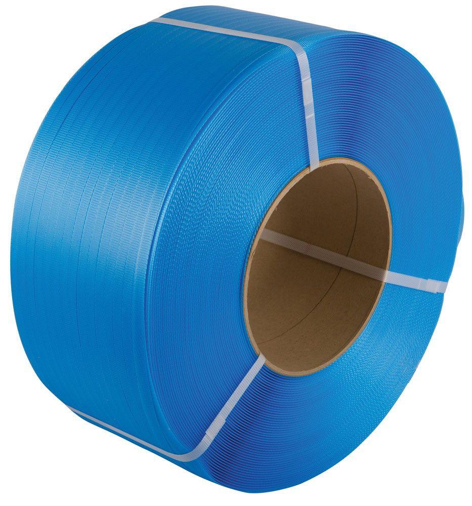 Safeguard® Blue 12 x 0.8mm PP Strap, 1500mtr