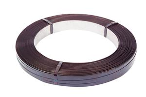 Safeguard® Black 13mm Mill Wound Steel Strap