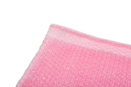 Image for Bubble Pouches, 230 x 285mm, pink antistatic