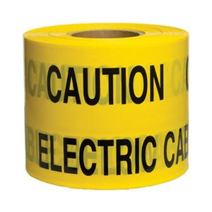 Pacplus® CAUTION ELECTRIC CABLE Tape