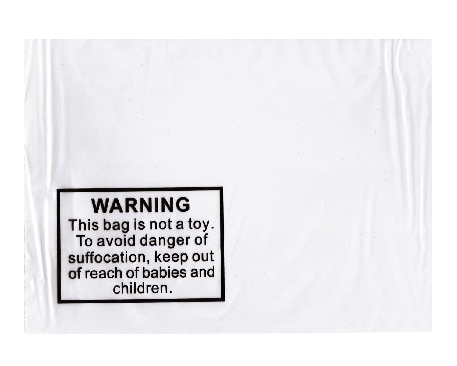 Tenzapac® 300 x 420mm Self Seal Bags (printed Child Warning Notice)