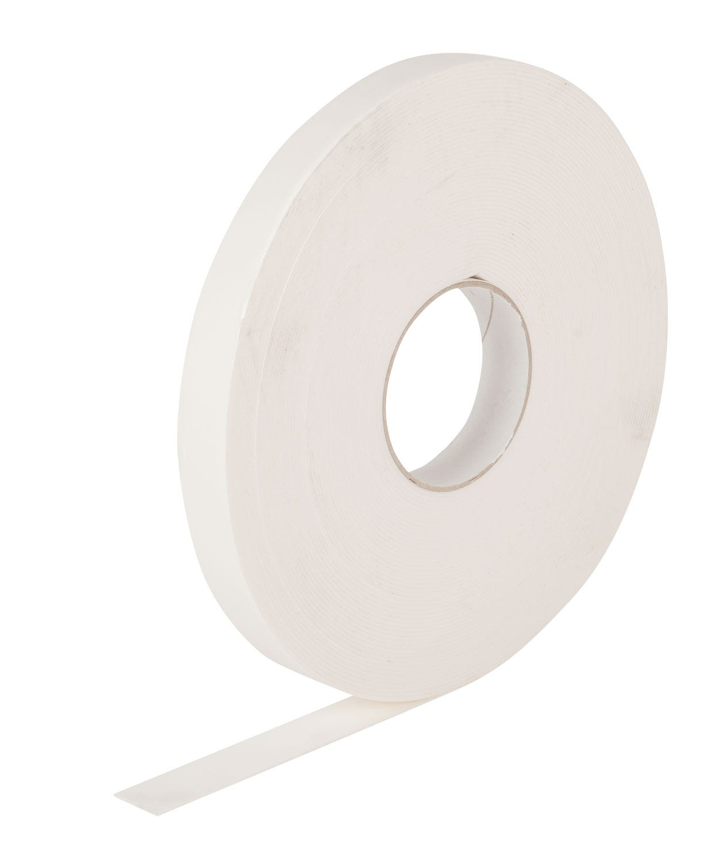 Pacplus® White 20mm Foam Tape