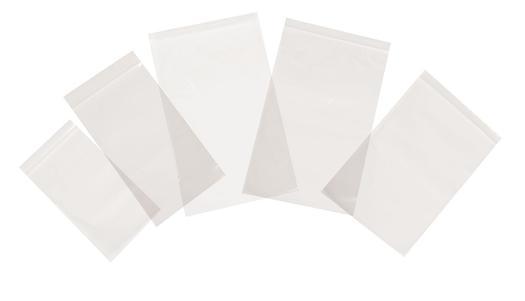 Image for Tenzapac® 76 x 82mm Plain Grip Seal Bags, 35mu