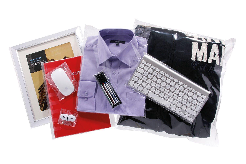 Tenzapac® 200 x 500mm Gusseted Bags, 50mu