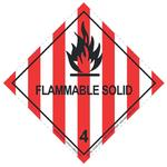 Image for Transpal® FLAMMABLE SOLID Labels