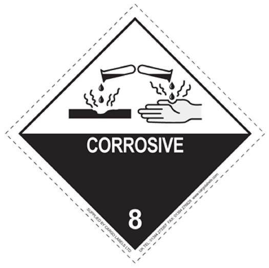 Image for Transpal® CORROSIVE Labels