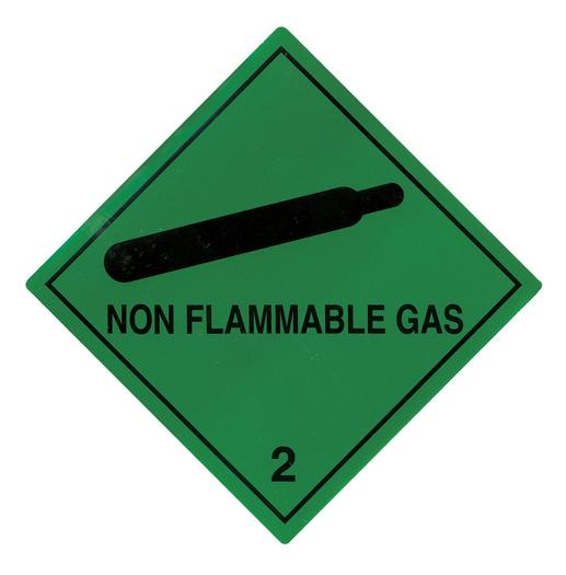 Image for Transpal® NON FLAMMABLE GAS Labels