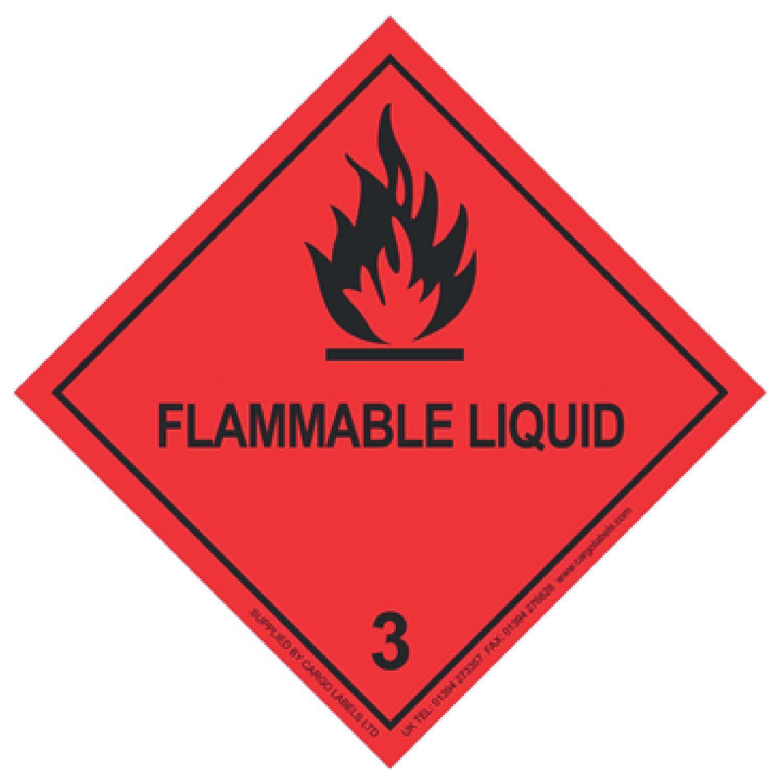 Transpal® FLAMMABLE LIQUID Labels