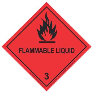 Transpal® FLAMMABLE LIQUID Labels