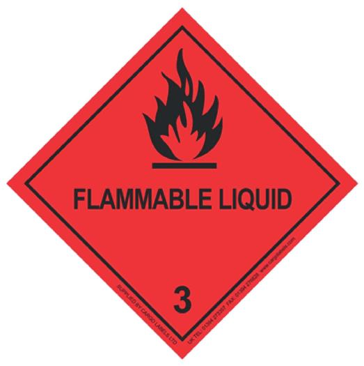 Image for Transpal® FLAMMABLE LIQUID Labels
