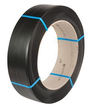 Safeguard® Black 11.1 x 0.51mm Hylastic PET Strap