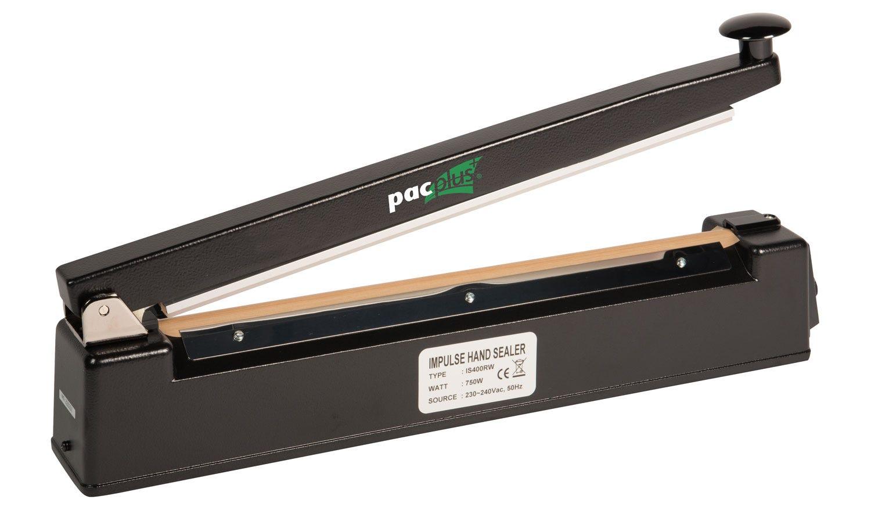 Pacplus® 400mm Round Wire Impulse Heat Sealer