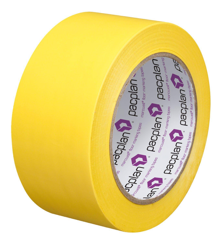 Marcwell® Yellow 50mm Lane Marking Tape