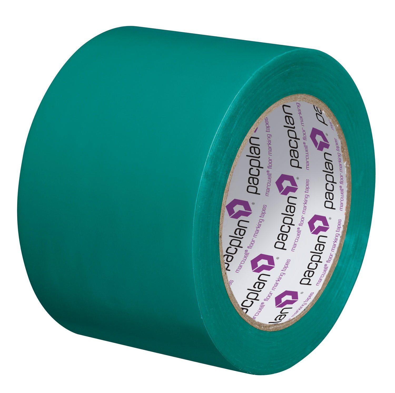 Marcwell® Green 75mm Lane Marking Tape