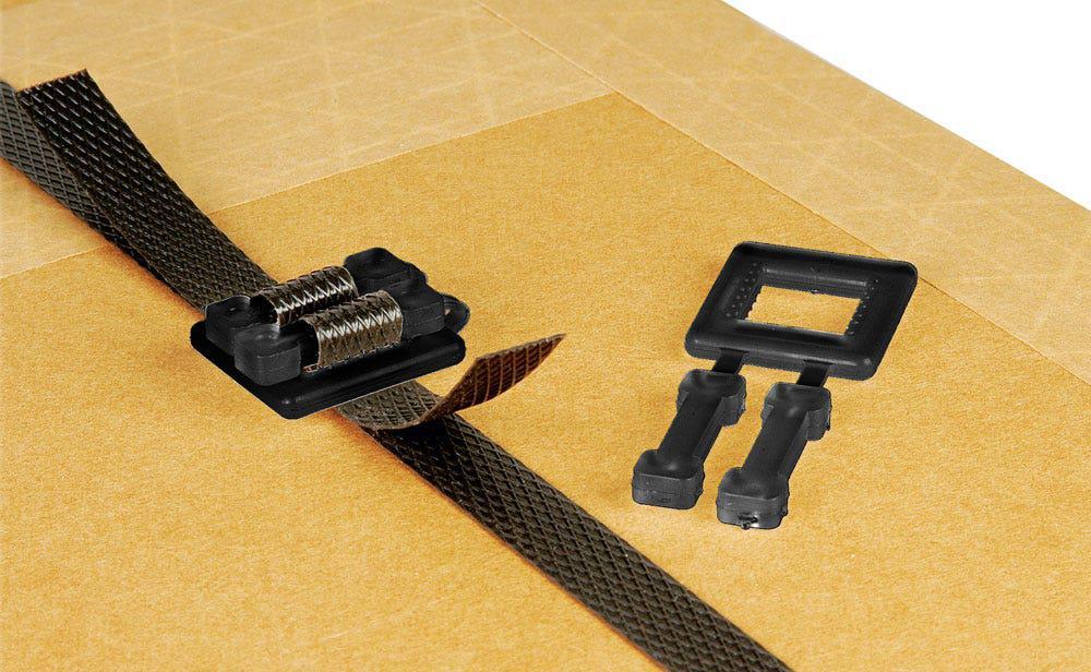 Safeguard® Black Plastic Buckles