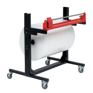 Pacplan® Single 1500mm Mobile Roll Cutter Dispenser