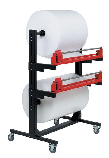 Image for Pacplan® Dual 1200mm Mobile Roll Cutter Dispenser