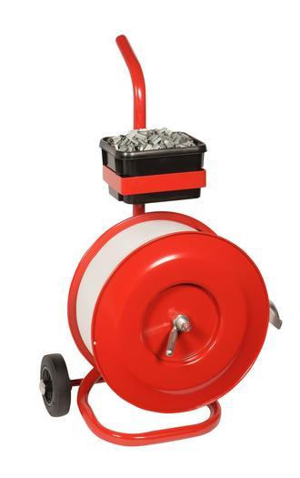 Image for Safeguard® 200mm Core Strap Dispenser Trolley