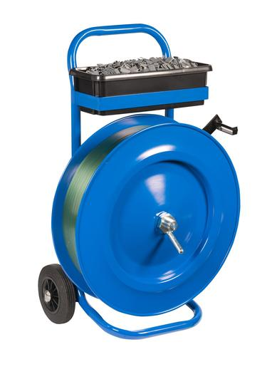 Image for Safeguard® 406mm Core Strap Dispenser Trolley