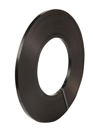 Safeguard® Black 16mm Ribbon Wound Strap, 395mtr