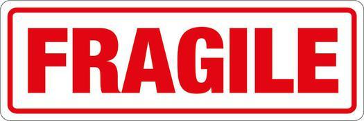 Image for Transpal® FRAGILE Labels, 148 x 50mm
