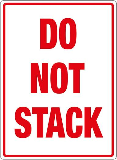 Image for Transpal® DO NOT STACK Labels