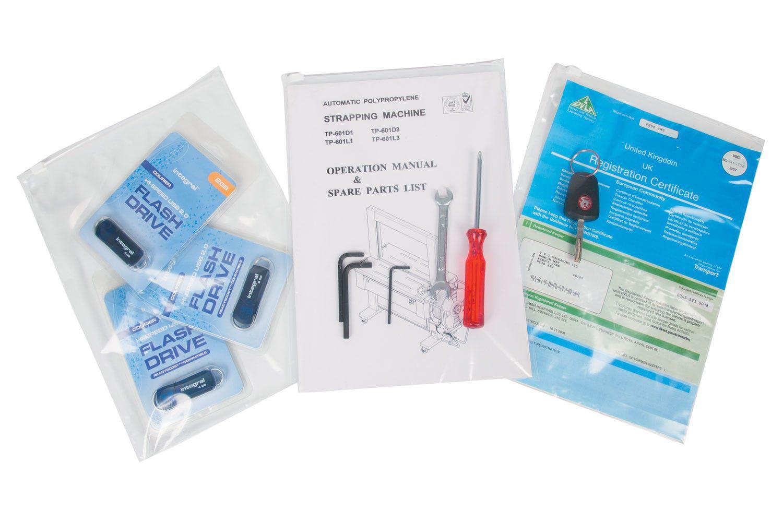 Tenzapac® 320 x 230mm Slider Grip Bags, 75mu