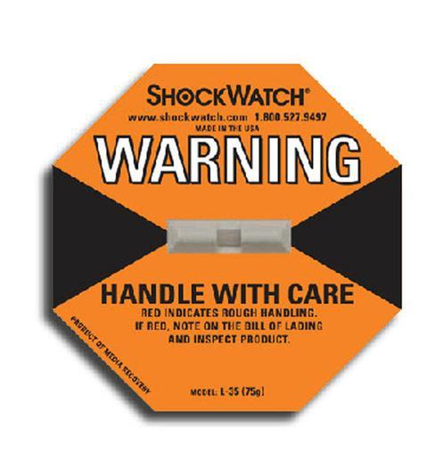 Image for Tegralert® Orange 75G ShockWatch