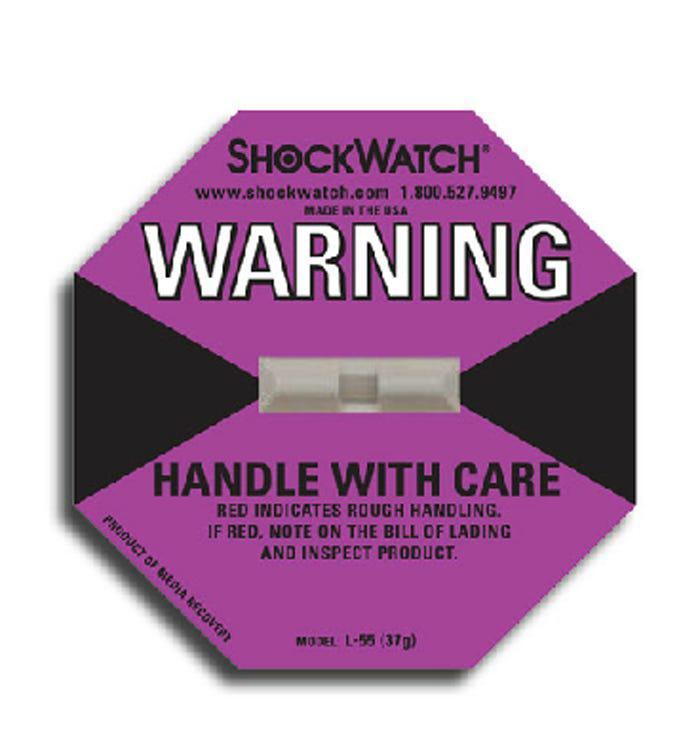 Tegralert® Purple 38G ShockWatch