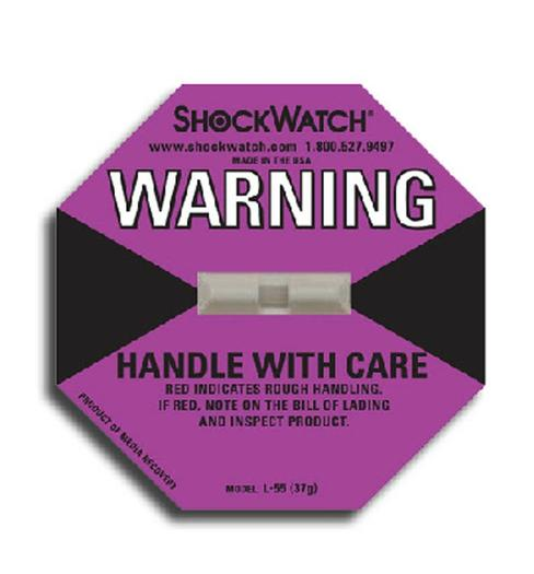 Image for Tegralert® Purple 38G ShockWatch