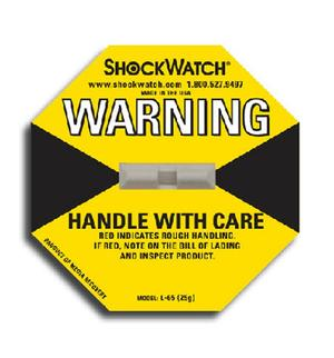 Tegralert® ShockWatch Companion Label