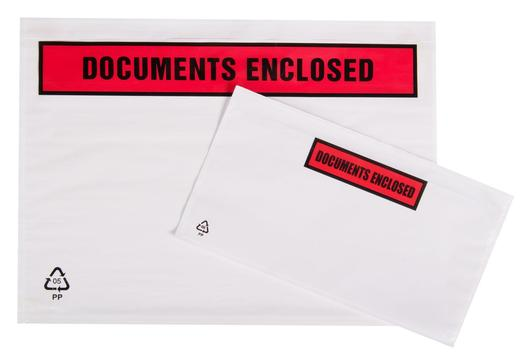 Image for Tenzalopes® A5 Documents Enclosed Wallets