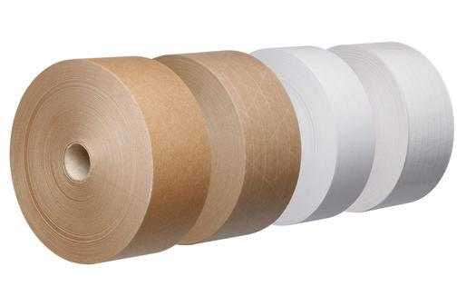 Image for Tegrabond® 90gsm x 70mm Brown GSO Tape, 200mtr