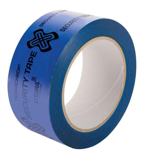 Image for Tegracheck® Blue OPEN VOID Security Tape