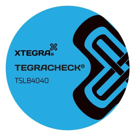 Tegracheck® 40mm Round Non Transfer Labels